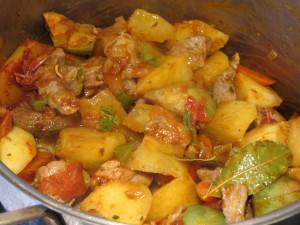 Meat Stew with sauce
