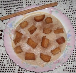 Mush with Fried Bread