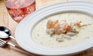 Fish and Mayonnaise Soup