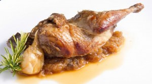 """Partridge in """"Pepitoria"""" style"""